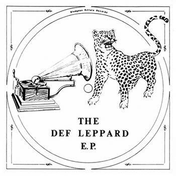 Def Leppard EP Cover