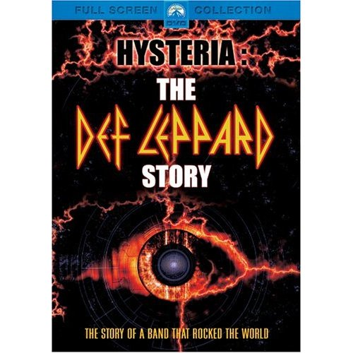 Hysteria - The Def Leppard Story box cover